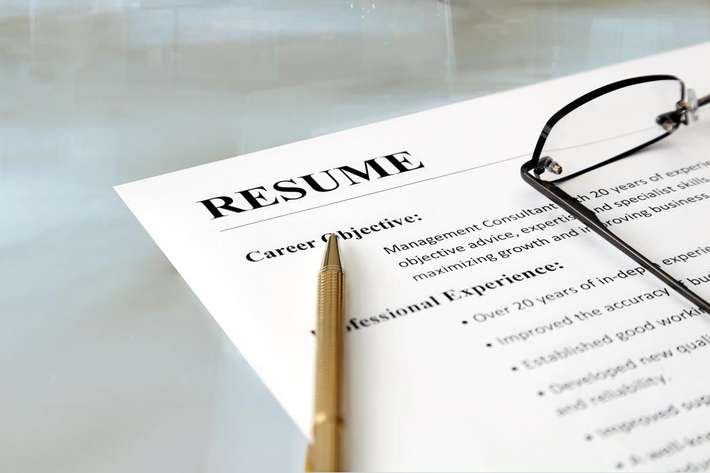 resume template